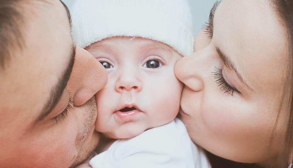 Das Baby ist da - nun können Sie den Antrag aufs Elterngeld stellen.