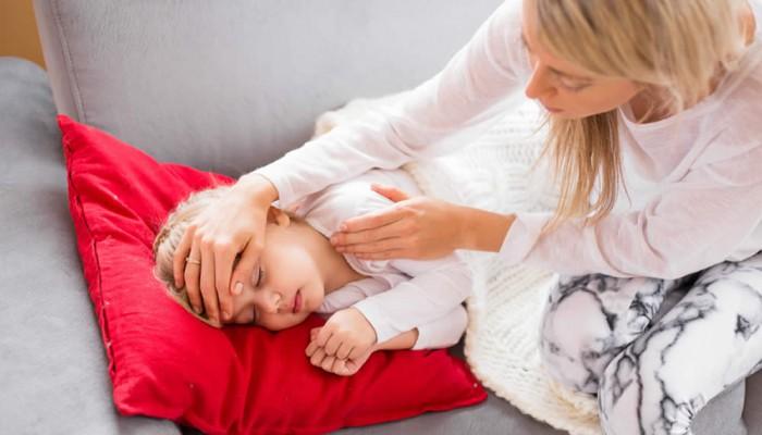 Viele Kinderkrankheiten haben ähnliche Symptome.