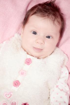 Schielendes Baby